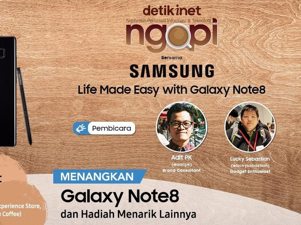 Buka-bukaan Galaxy Note8, Berani?