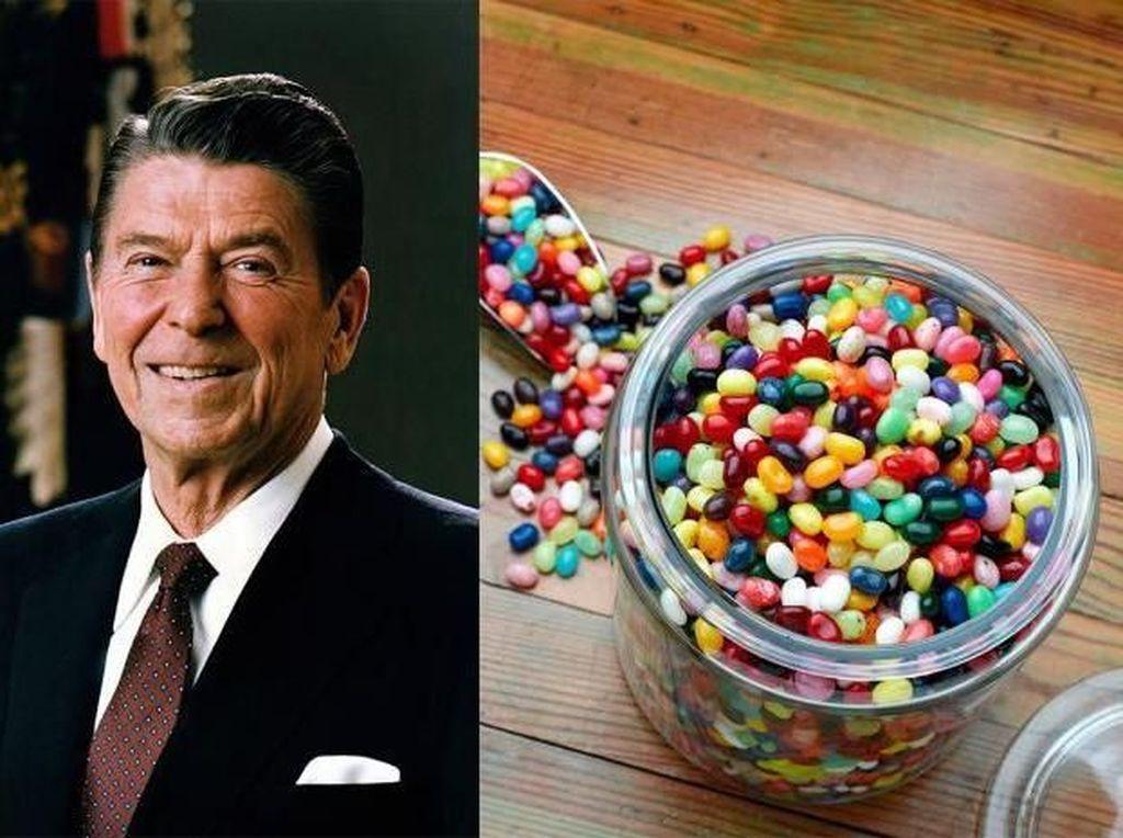 Donat, Steak hingga Jelly Bean, Ini Makanan Favorit 15 Presiden AS! (2)