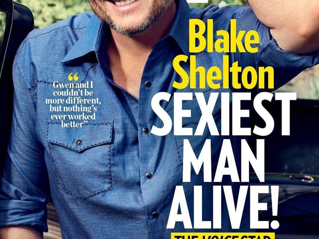 Blake Shelton, Pria Terseksi yang Punya Cerita Unik tentang Dietnya