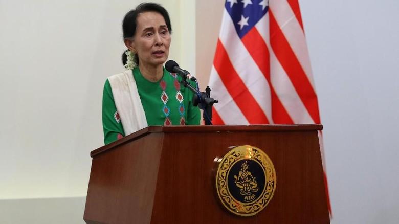 Tanggapi Kritikan Dunia Soal Rohingya, Suu Kyi: Saya Tidak Bungkam