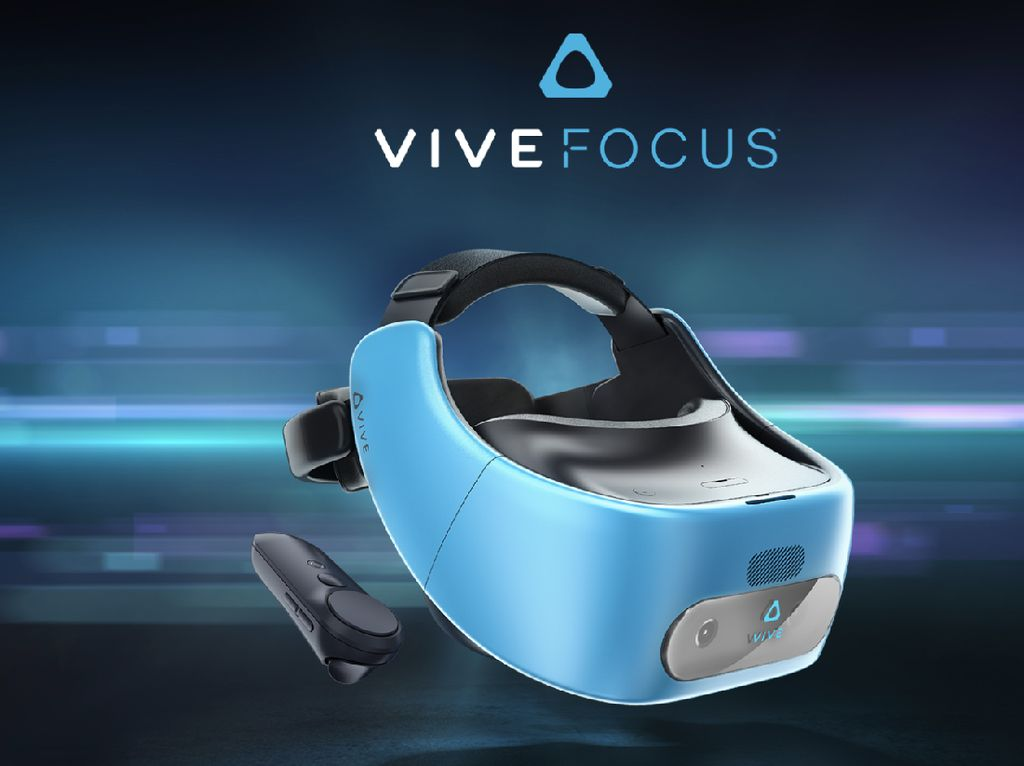 HTC Umumkan Vive Focus, Lupakan Google DayDream