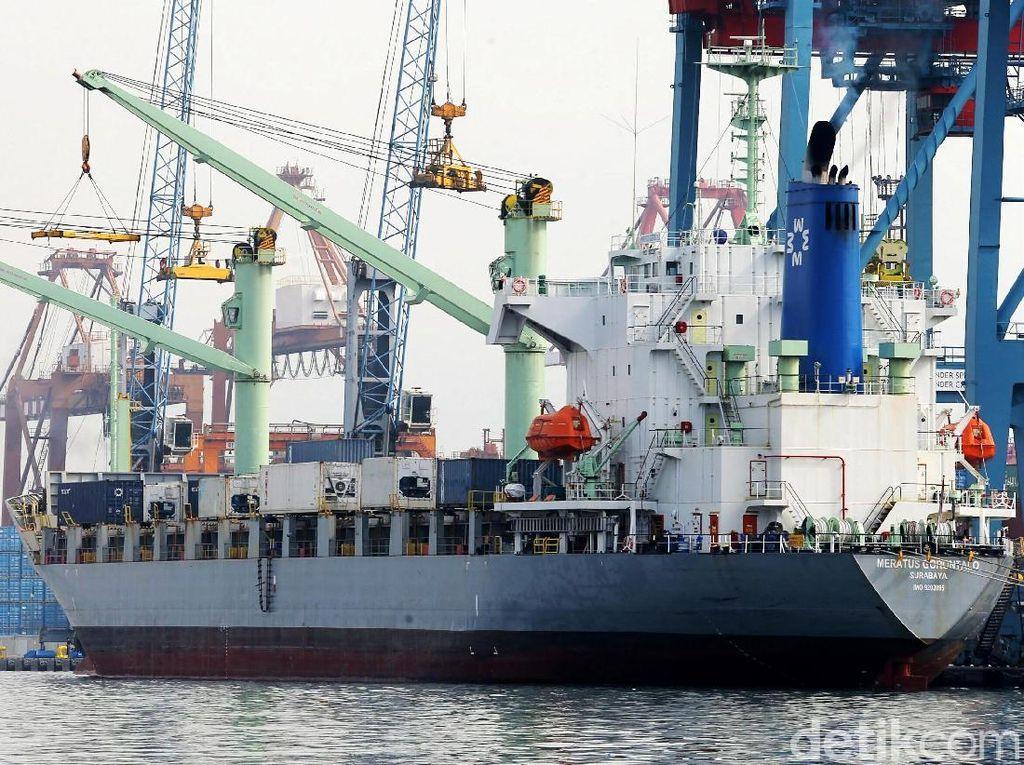 Kemenhub Sebut 40% Perdagangan Dunia Lewat Laut RI, Dapat Untung?