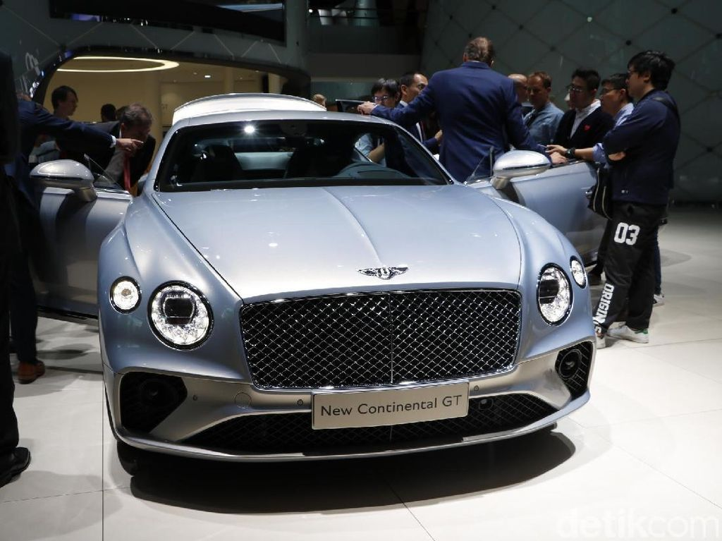 3 Miliarder Indonesia Sudah Pesan Bentley Continental GT