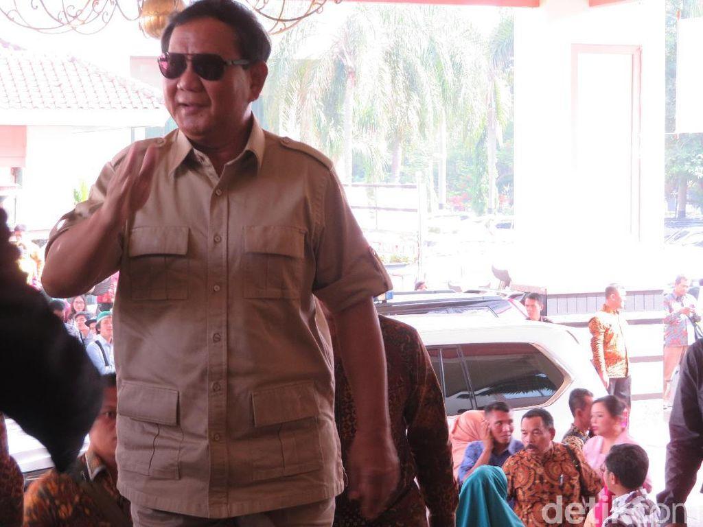 Hadiri Acara Wisuda UBK, Prabowo akan Sampaikan Orasi Ilmiah