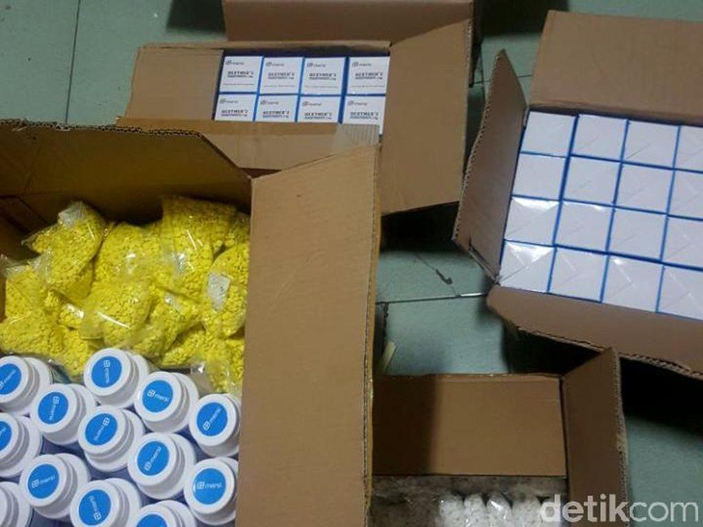 Polisi Pekalongan Sita 154.000 Pil Obat Keras Ilegal Siap Edar