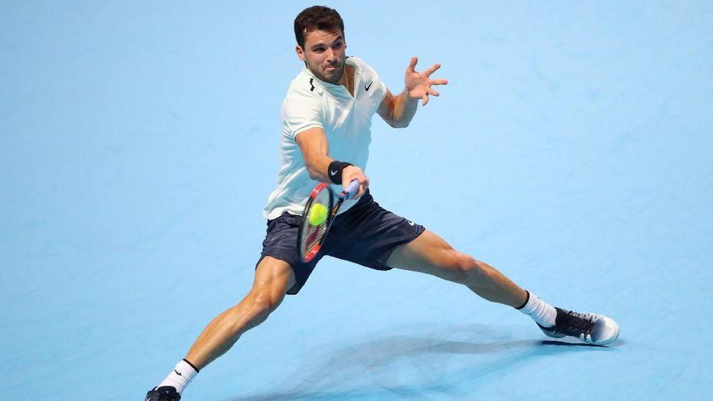 Dimitrov Melangkah ke Semifinal Usai Libas Goffin