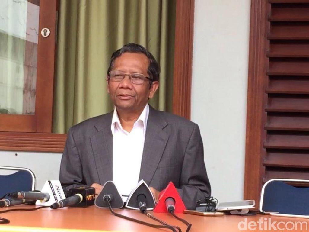 DKI Bikin KPK Ibu Kota, Mahfud MD: Jakarta Memang Banyak Masalahnya