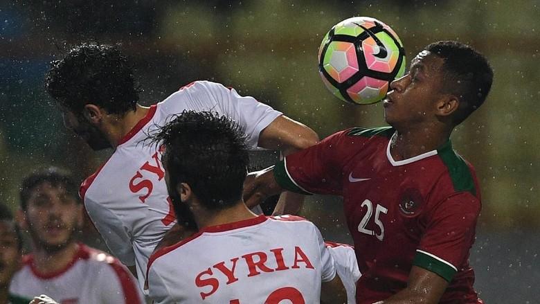 Indonesia Kalah 0-1 dari Suriah