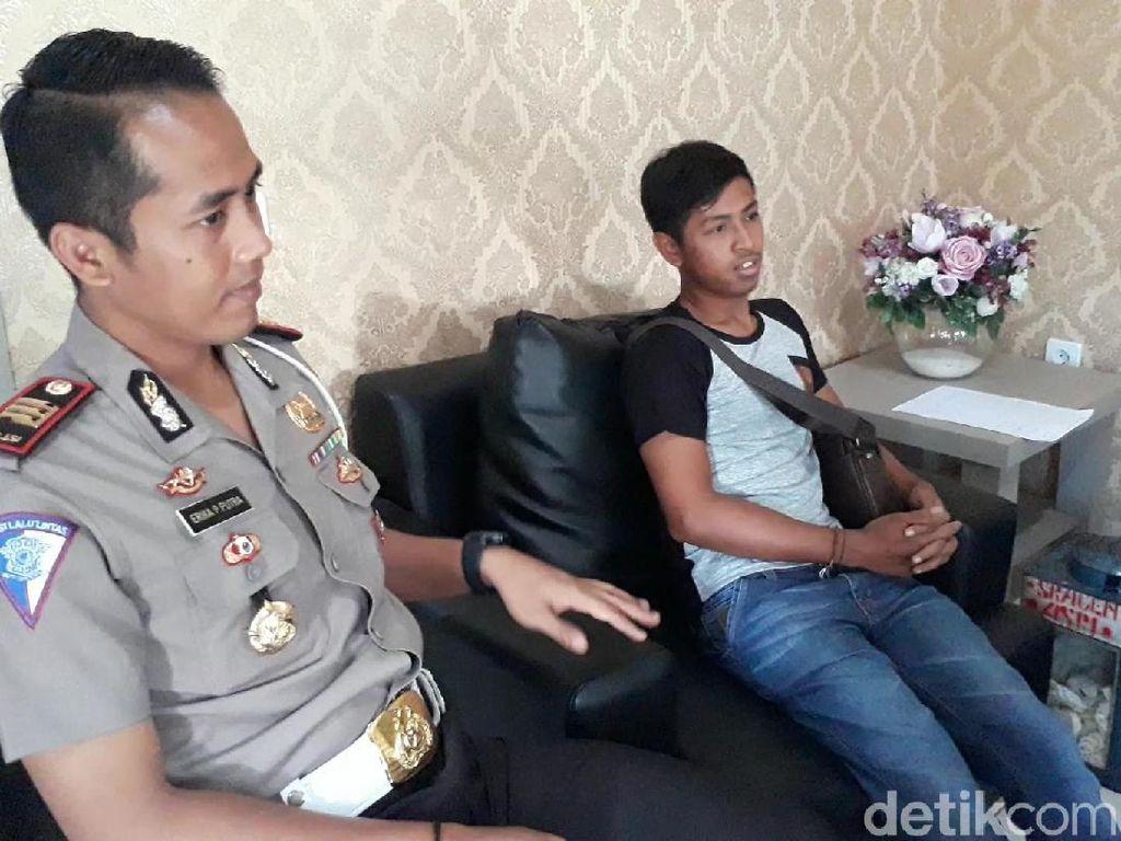 Video: Ini Polisi yang Viral karena Tak Punya SIM dan Ditilang