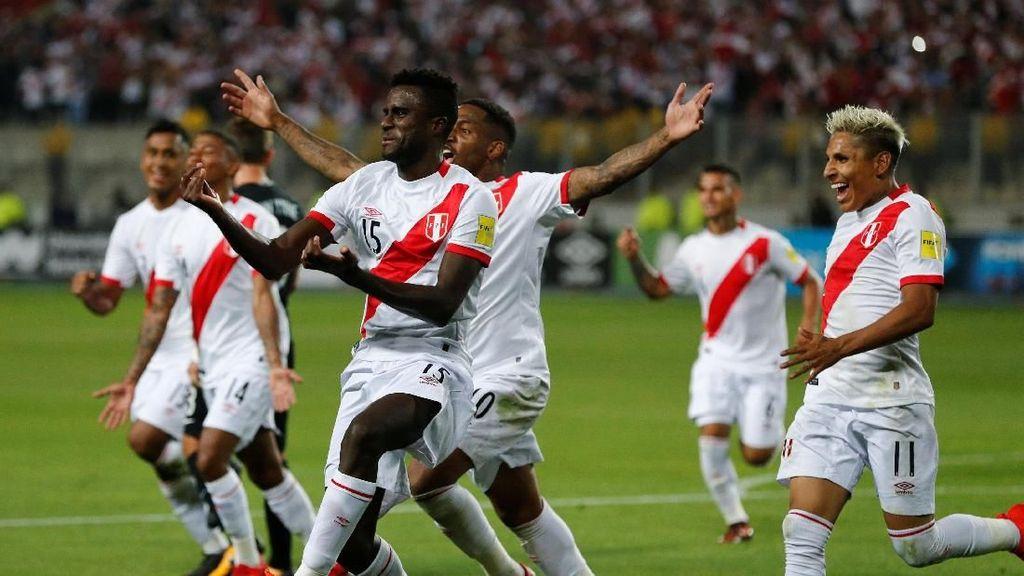 Hadiah dari FIFA untuk Peru Jelang Piala Dunia 2018