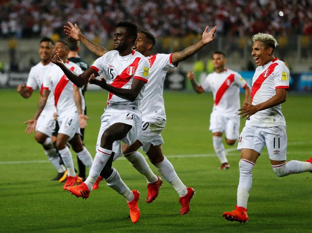 Peru Dapat Tiket Terakhir ke Piala Dunia