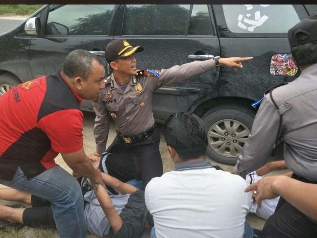 Operasi Zebra Jaring 4 Kg Sabu, Pelaku Berusaha Kabur