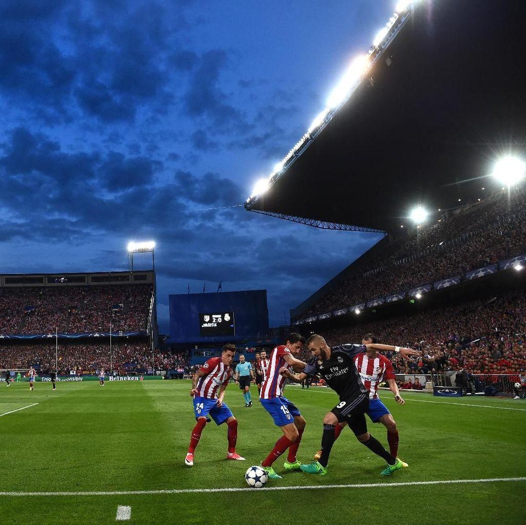Soal Derby Madrid, Benzema yang Paling Kenyang Pengalaman Sejak 2010/2011
