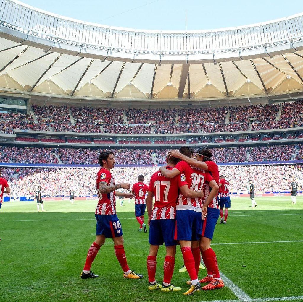 Berharap Wanda Metropolitano Memberi Atletico Tuah di Laga Derby