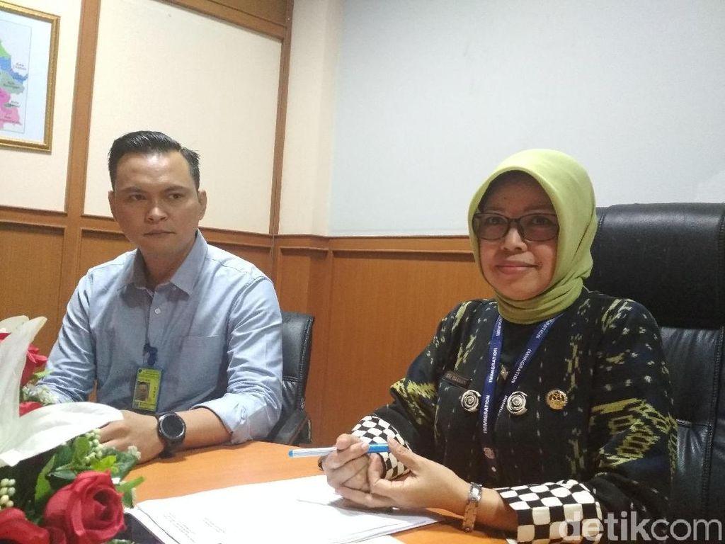 Sepanjang 2017, Imigrasi Bandung Deportasi 42 WNA