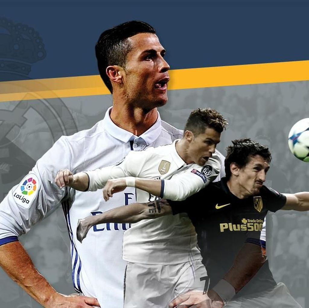 Ronaldo, Teror untuk Atletico Madrid
