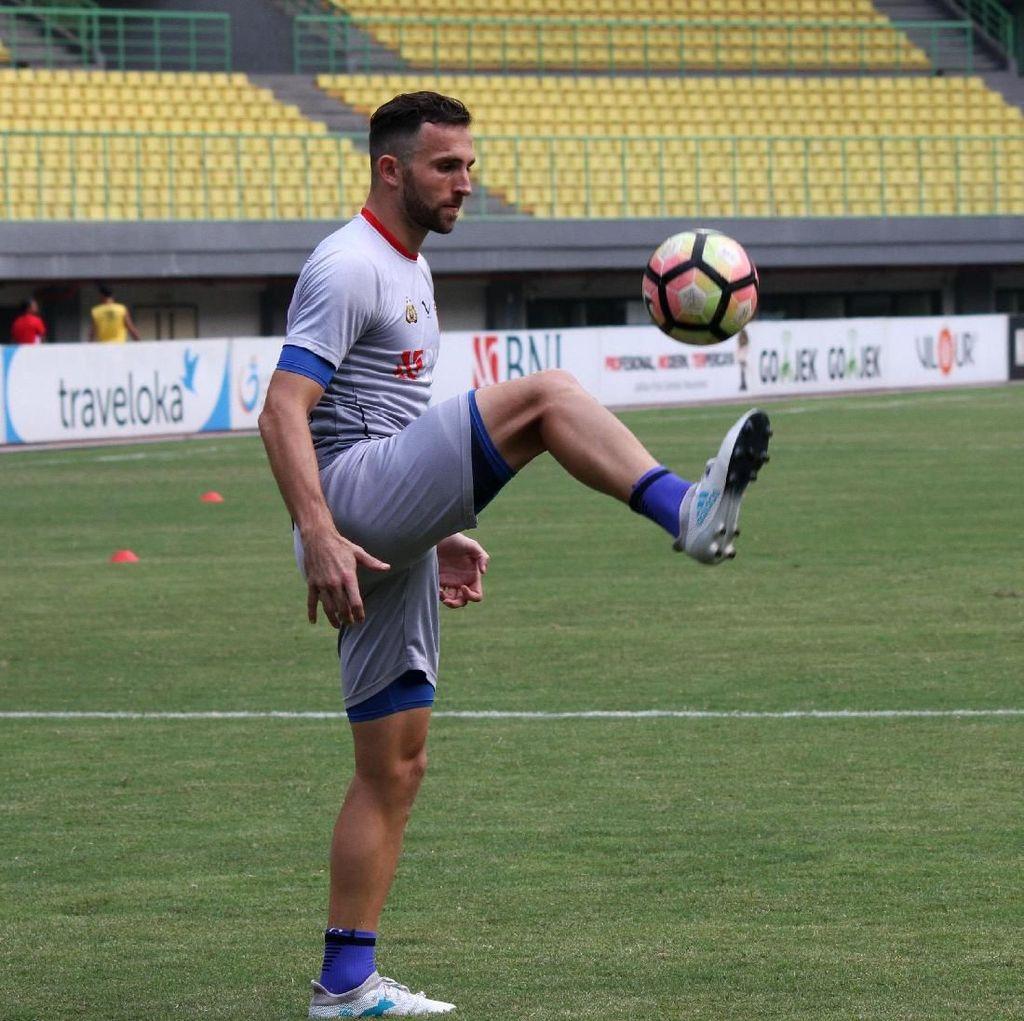 Girangnya Spasojevic Usai Latihan Perdana bersama Timnas Indonesia