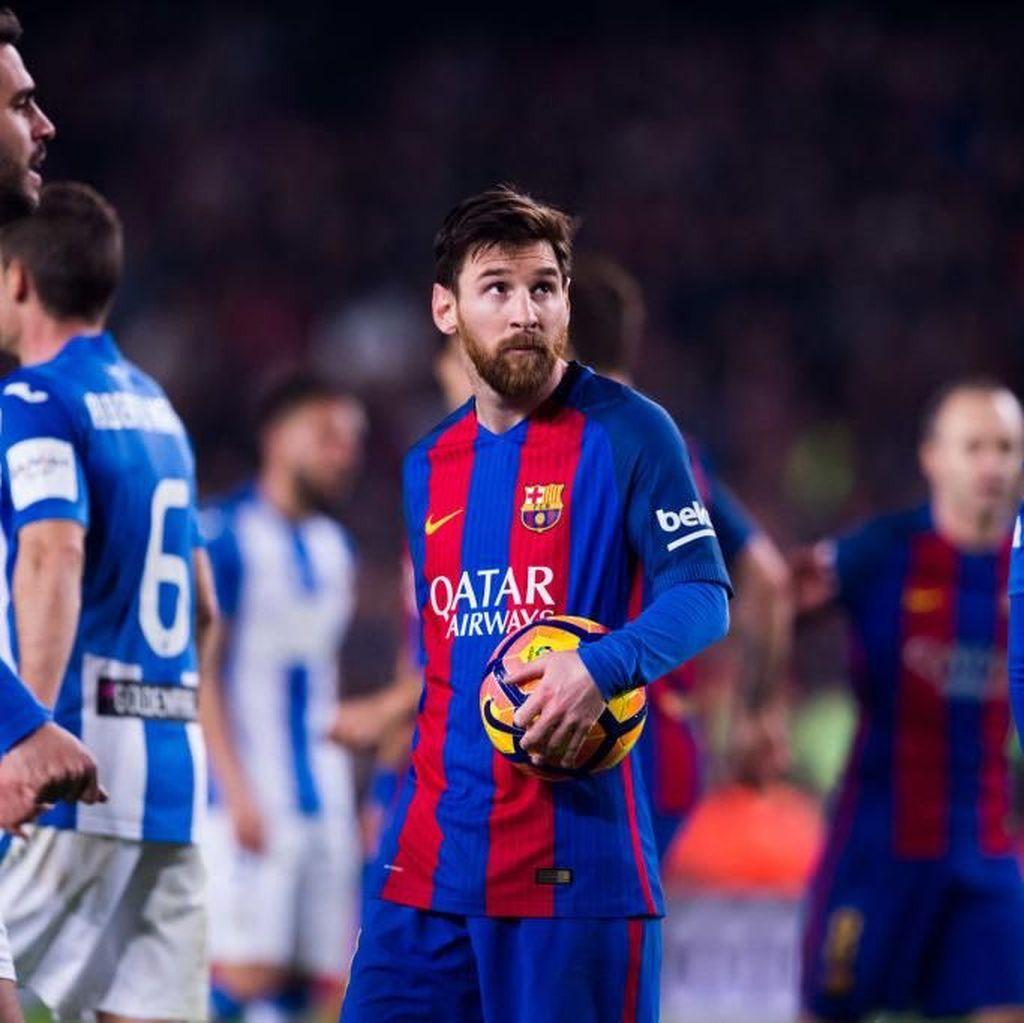 Ancaman Messi ke Leganes: Musim Lalu Empat Gol, Pekan Ini Berapa?