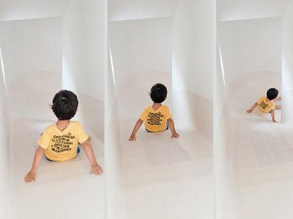 Siapa Takut Jadi Anak-anak Lagi? Yuk Main Perosotan di Rumah Ini