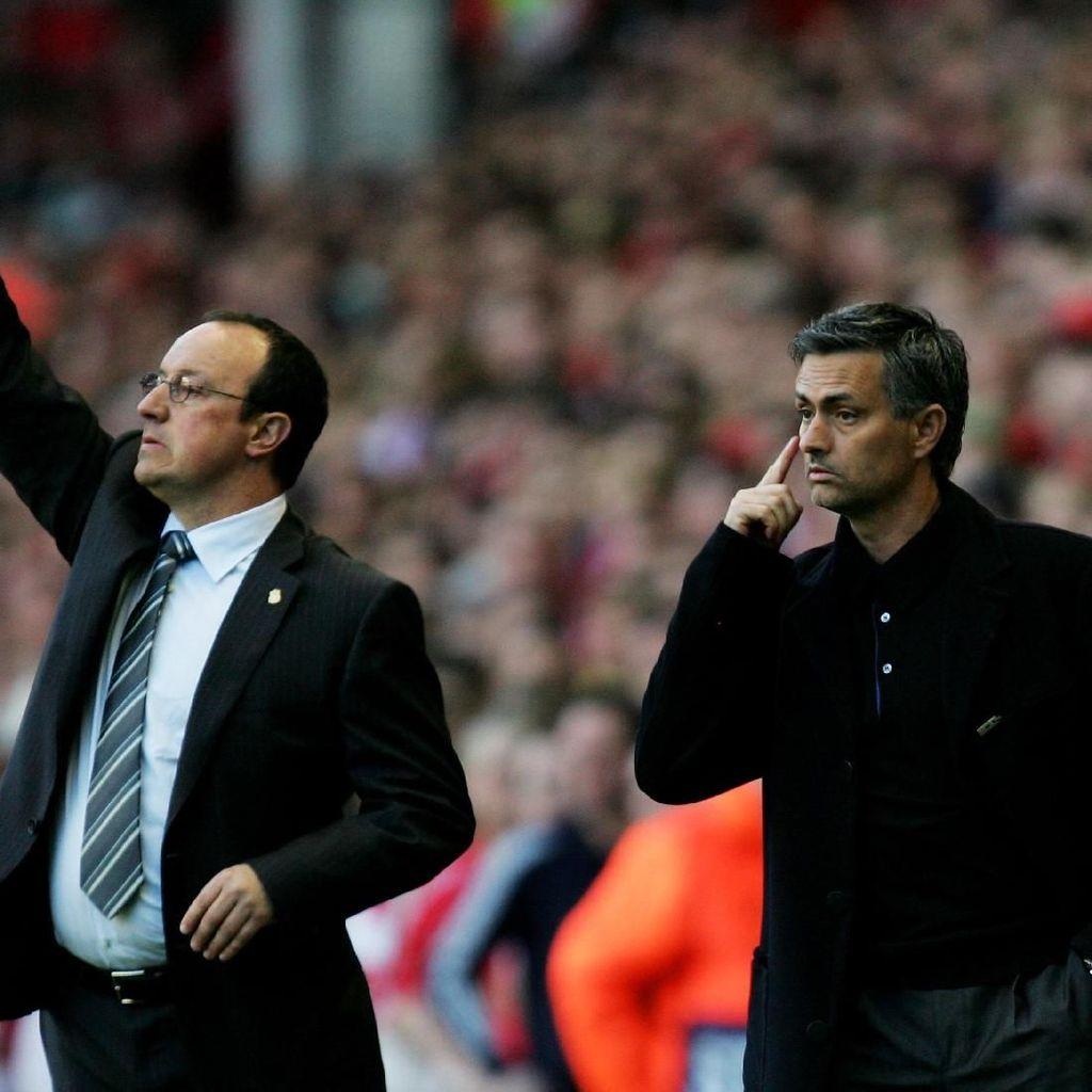 Setelah Lebih dari 10 Tahun, Mourinho Kembali Bertemu Benitez di Premier League