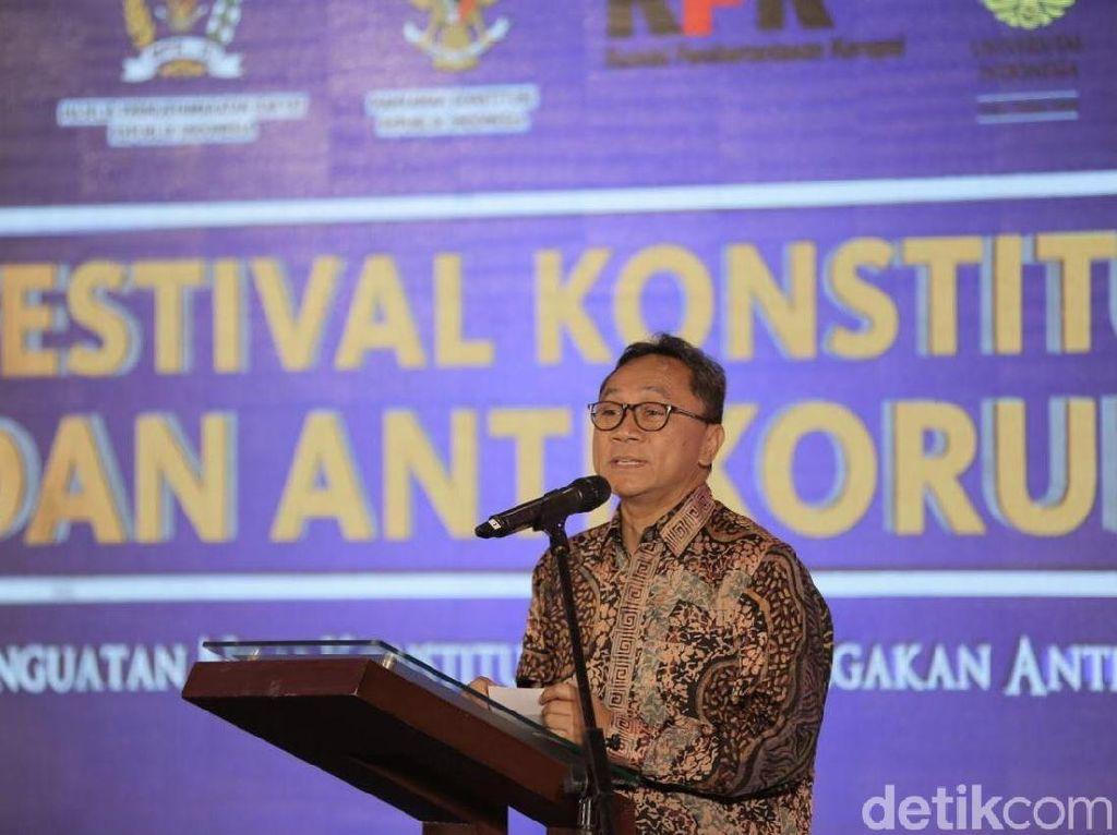 MPR Belum Setujui Pergantian Mahyudin dari Posisi Wakil