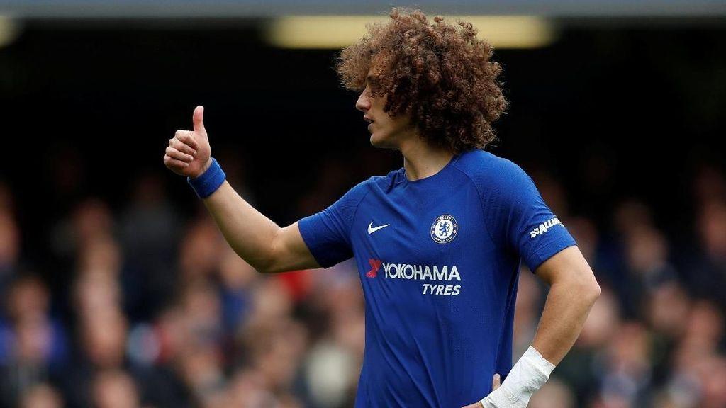 David Luiz Masuk Skuat Chelsea Lawan WBA