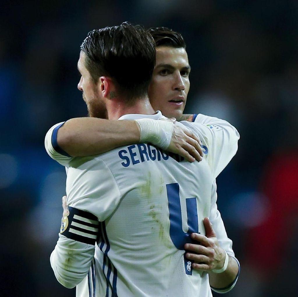 Ronaldo Sindir Madrid, Begini Tanggapan Ramos