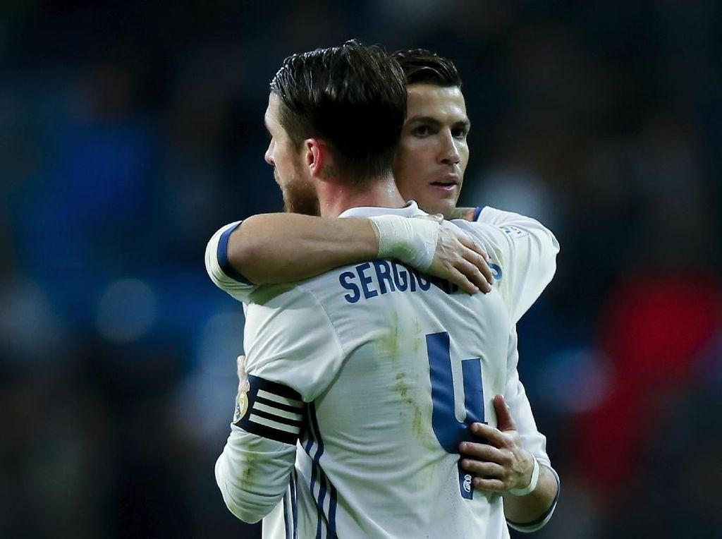 Ramos Kadang Tak Sependapat dengan Ronaldo, tapi Satu Tujuan