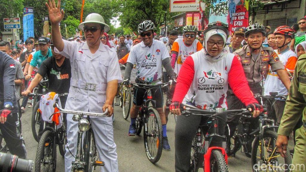 Menpora Canangkan Hari Bersepeda Nasional di Sragen