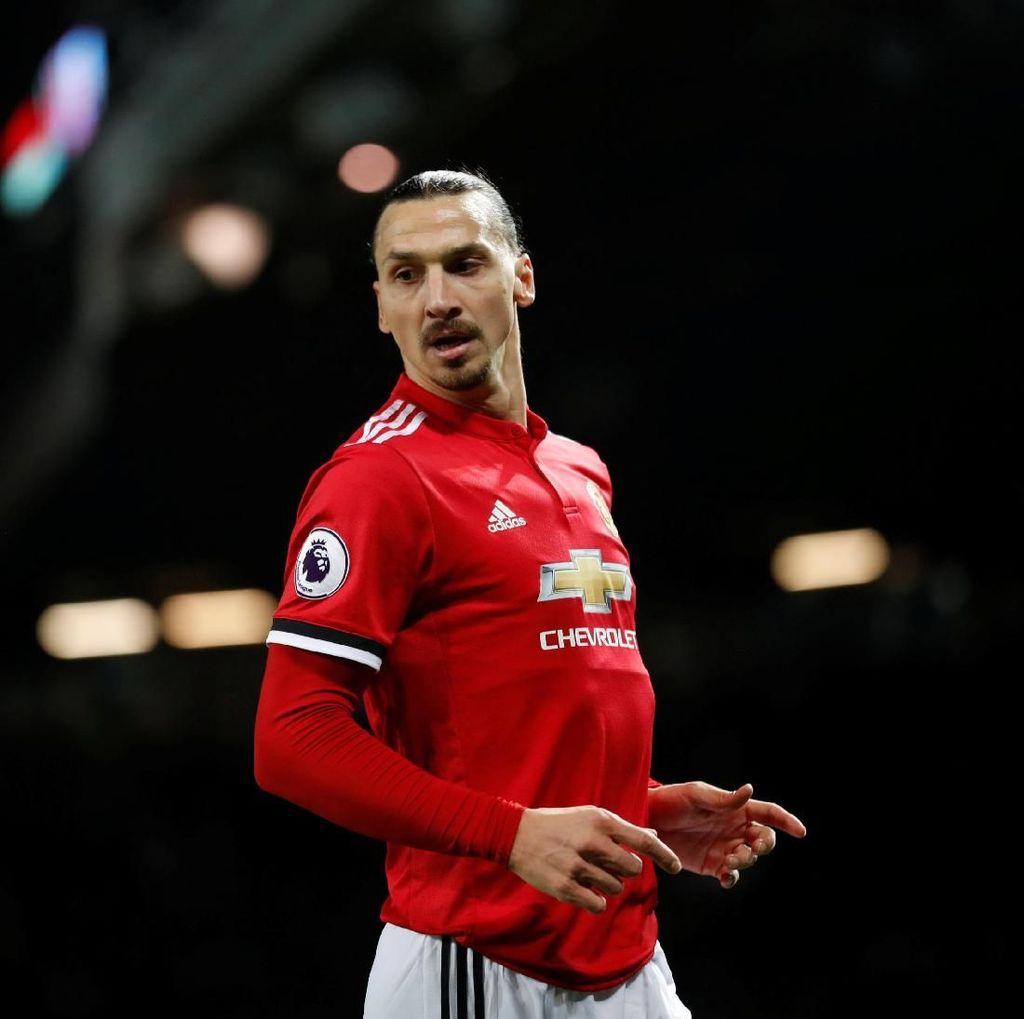 Mourinho: Ibrahimovic Belum Siap Jadi Starter