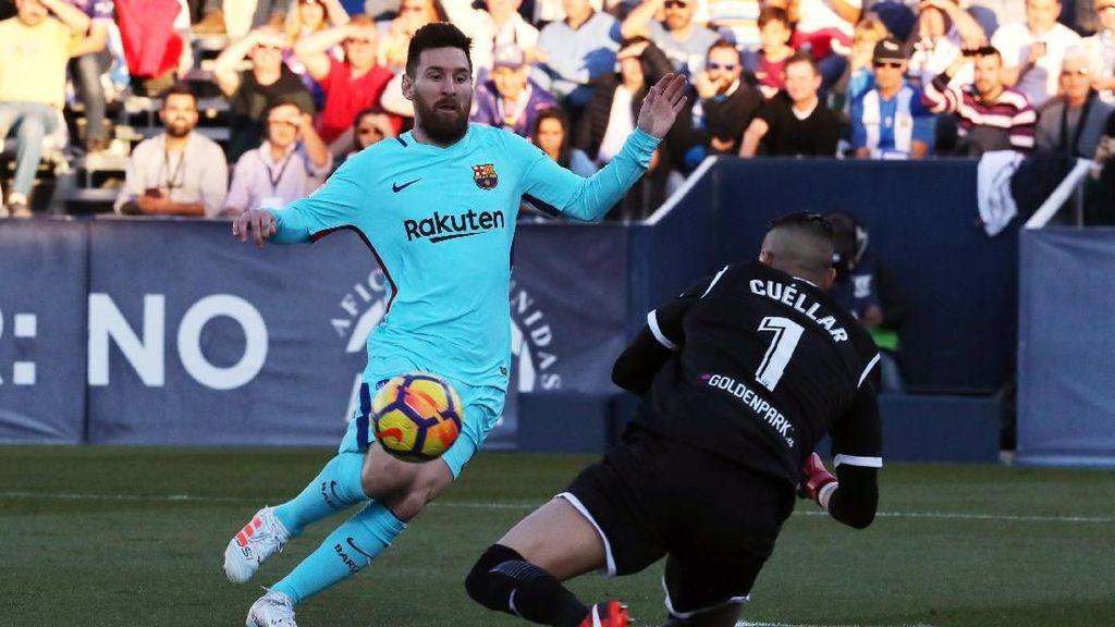 Barca Menang Telak atas Leganes, Valverde: Skornya Berlebihan