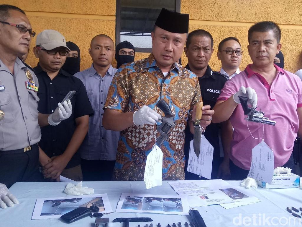 3 Pencuri yang Didor Polisi di Bandung Komplotan Lampung