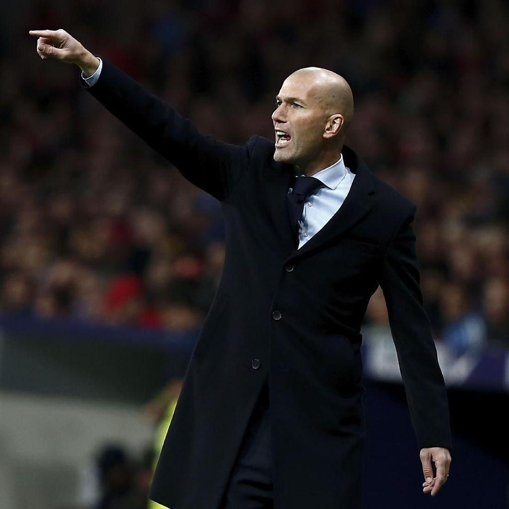 Zidane Yakin Barca Akan Terpeleset