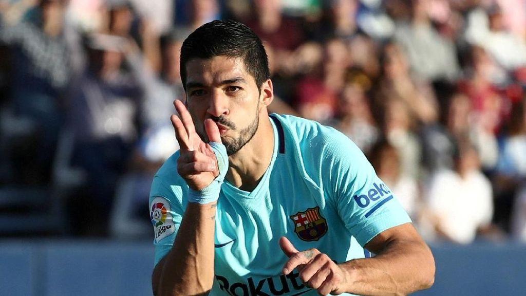 Messi Buntu, Suarez Unjuk Gigi