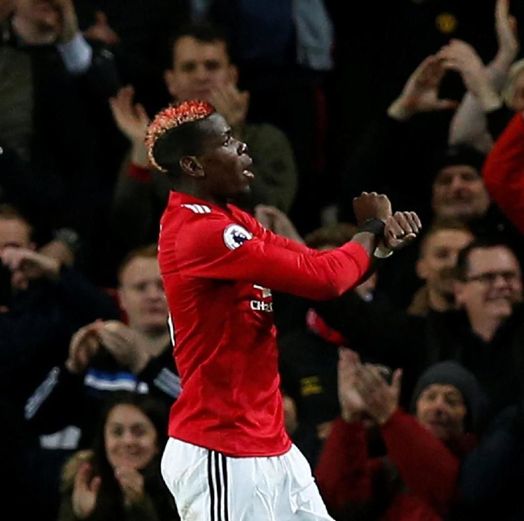 Comeback Pogba: Bikin Gol dan Assist, MU Menang Telak