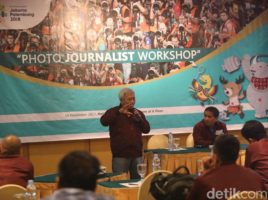 Photo Journalist Workshop Asian Games 2018