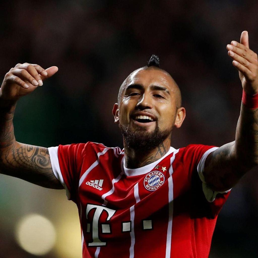 Bayern Kehilangan Vidal sampai Akhir Musim