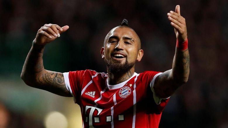Pesan Perpisahan Ribery untuk Vidal