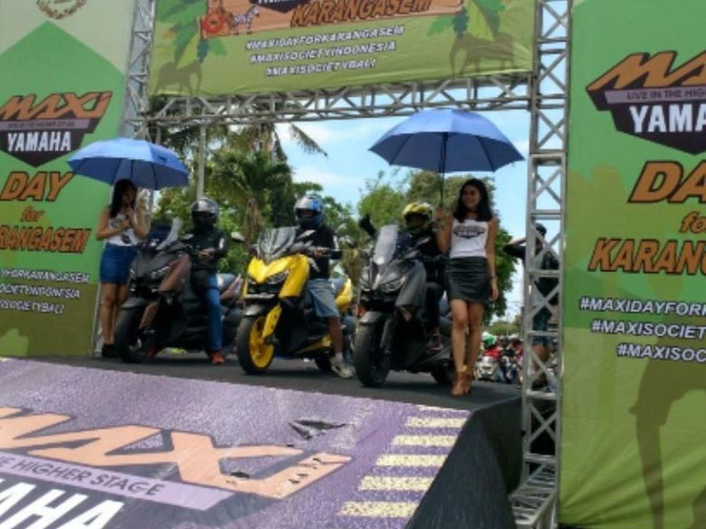 Warga Lokal dan Asing di Bali Gandrungi MAXI Yamaha