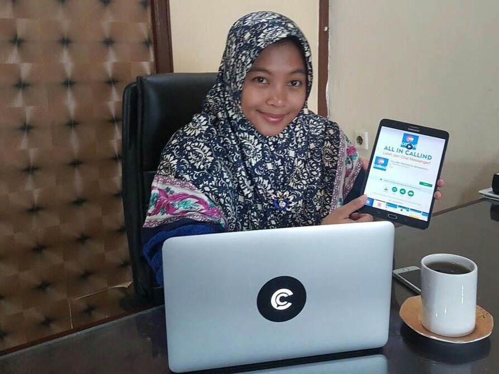 Seluk Beluk Callind, Pesaing WhatsApp Buatan Gadis Kebumen