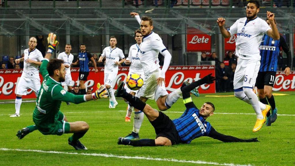 Kalahkan Atalanta 2-0, Inter Milan Tempel Napoli