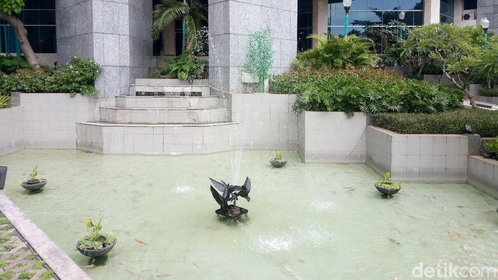 Ini Air Mancur DPRD DKI yang Bakal Direhabilitasi Senilai Rp 620 Juta