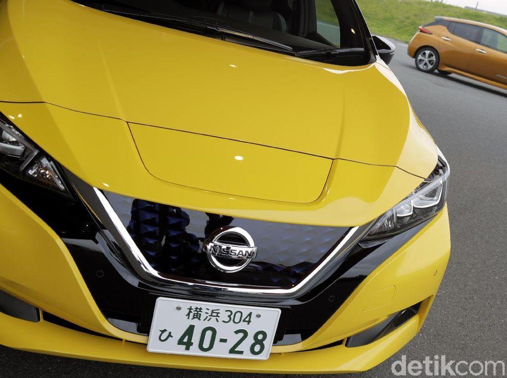 Mobil Listrik Nissan Pinjam Otak Microsoft