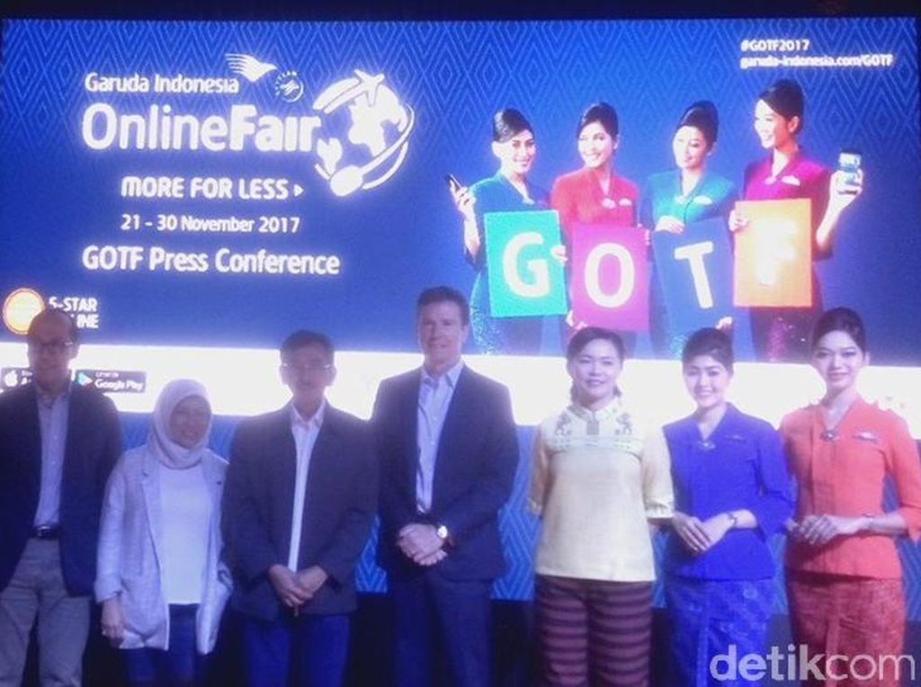 Garuda Indonesia Online Travel Fair Dorong Pariwisata Digital