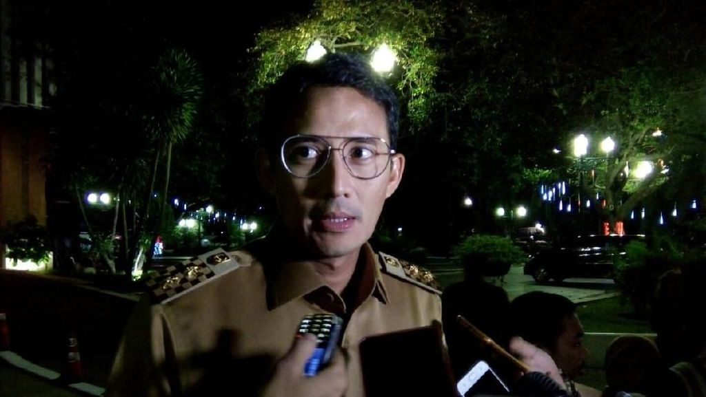 Dana Kunker DPRD Rp 108 M, Sandiaga: Diajukan Zaman Pak Djarot