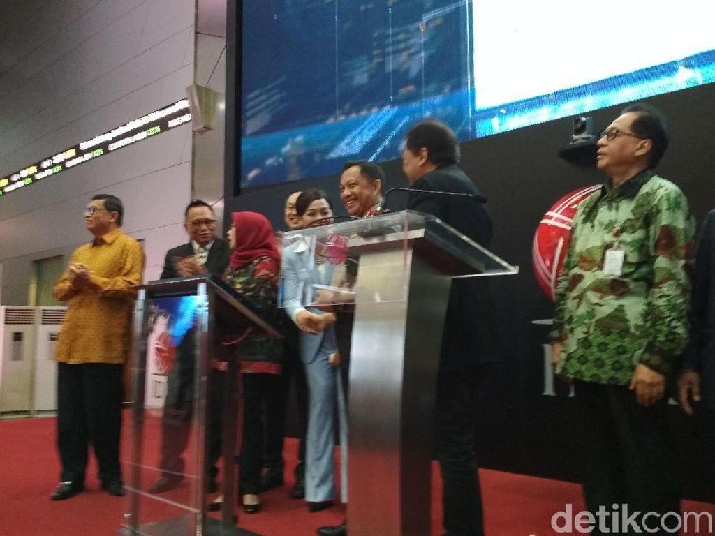 Kapolri Datangi Bursa Efek Indonesia