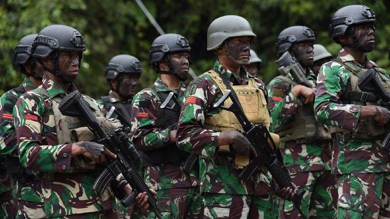 Serahkan Soal Status KKB ke Pemerintah, TNI Siap Laksanakan Tugas