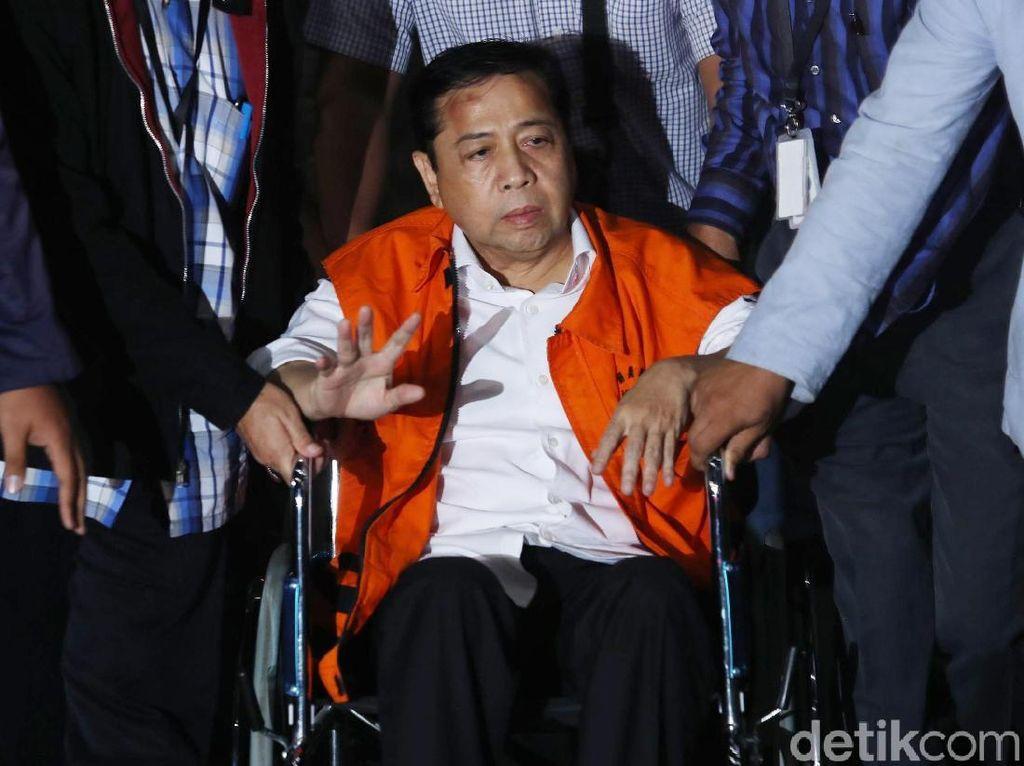 Melihat Lagi Akting Novanto yang Dibongkar Perawat