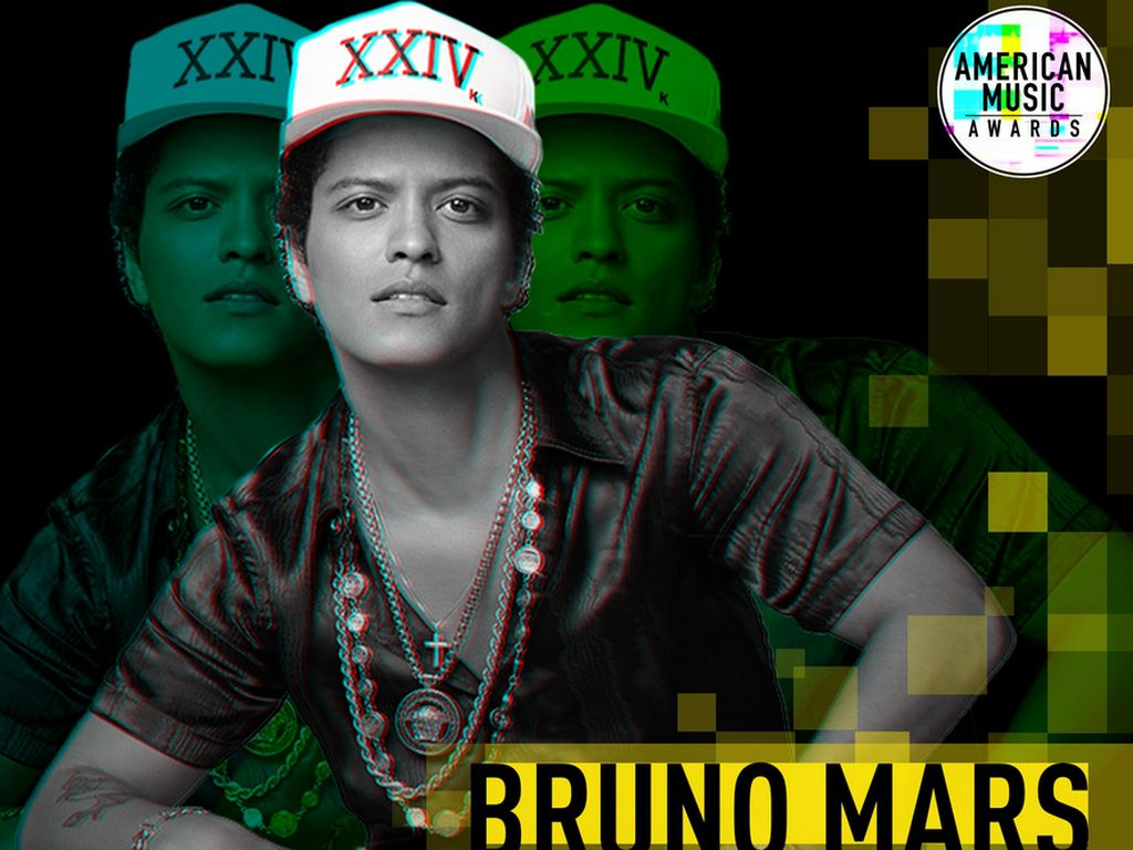 Bruno Mars Mendominasi, Ini Daftar Lengkap Pemenang AMAs 2017