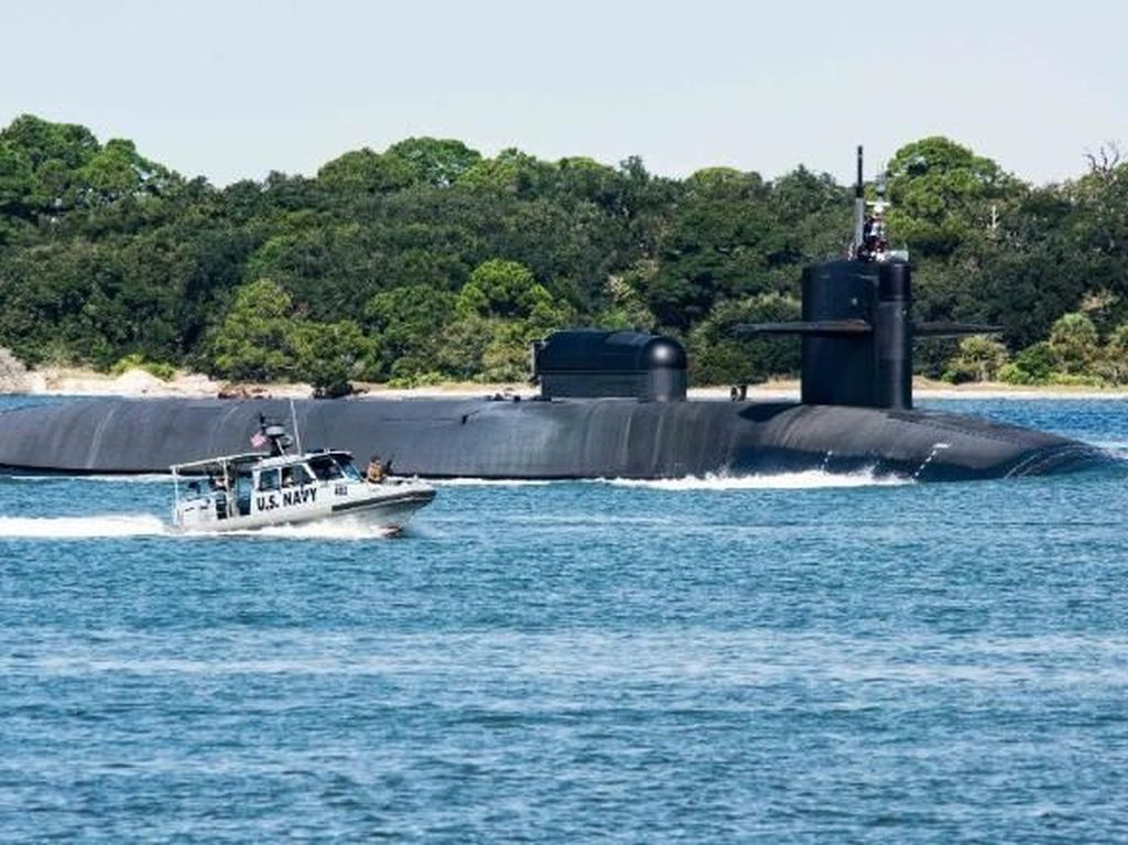 USS South Dakota Diklaim Kapal Selam Serang Terbaik Dunia